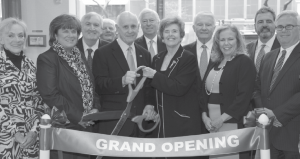 From left, Country Bank Board Members from left, Judith Aydelott, Mary J. Murphy, Patricia Murphy MacGillivray, William J. Burk, vice chairman, Anthony D. Calabrese, Edmond J. Boran, special guest, Bryan O. Colley, JoAnn M. Murph, vice chair, Joseph M. Murphy, chairman, Carolyn T. Murphy, Richard Petrricone and Joseph M. Murphy Jr., president and CEO.