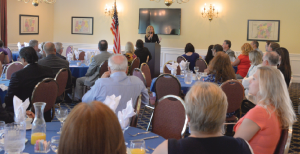 More than 75 HGAR commercial and residential Realtors attended a CID breakfast with Putnam County Executive MaryEllen Odell at the Putnam County Golf Course in Mahopac.