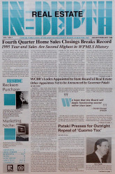 Real Estate In-Depth Cover 1996 First Issue