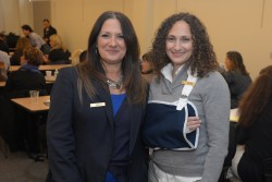 Event Sponsors, Nanette Giofdana and Julissa Leahy of Westy Storage