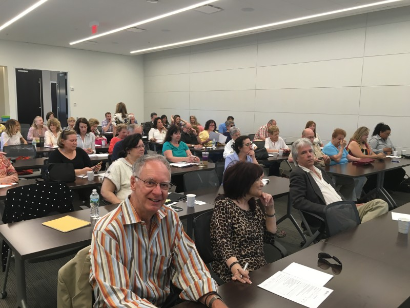 """It was a full house for HGAR's first """"Lunch & Learn"""" Program at HGAR, White Plains."""