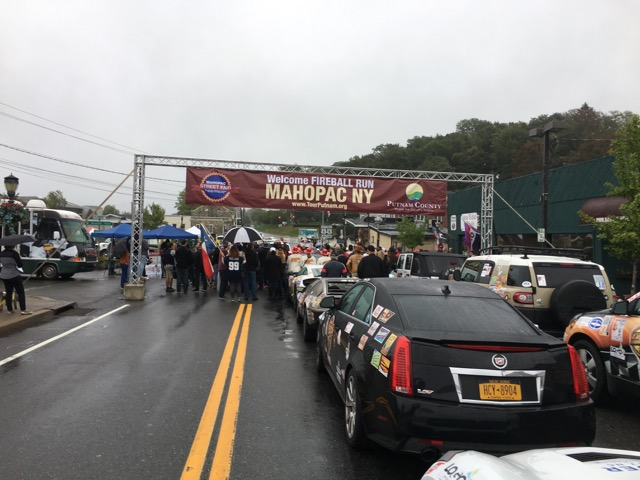 Fireball Run live in Mahopac