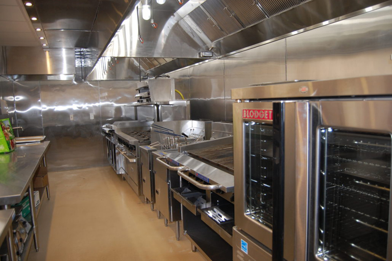 The state of the art kitchen at the Tilly Foster Educational Institute