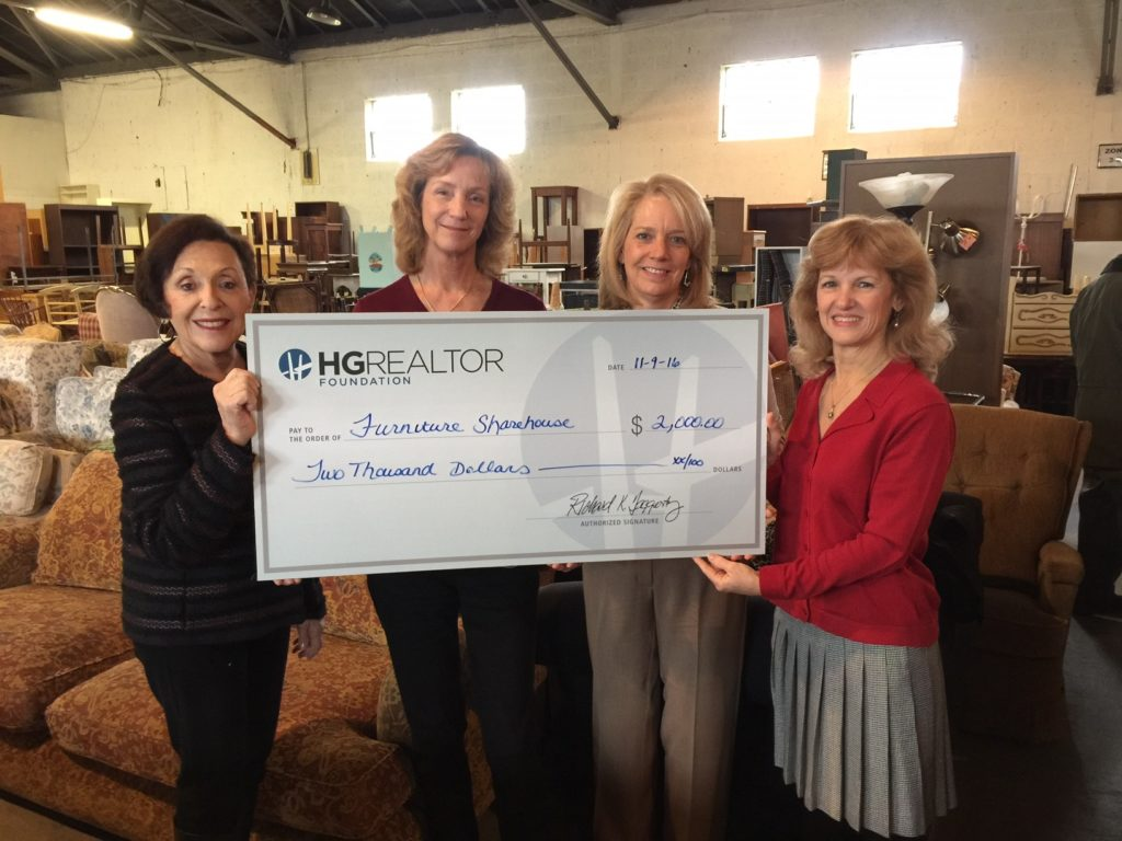 Superb Hudson Gateway Realtor Foundation Presents Donation Check To Furniture  Sharehouse