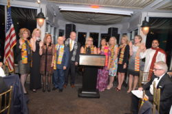 J.P. Endres swears in HGAR/HGMLS Officers
