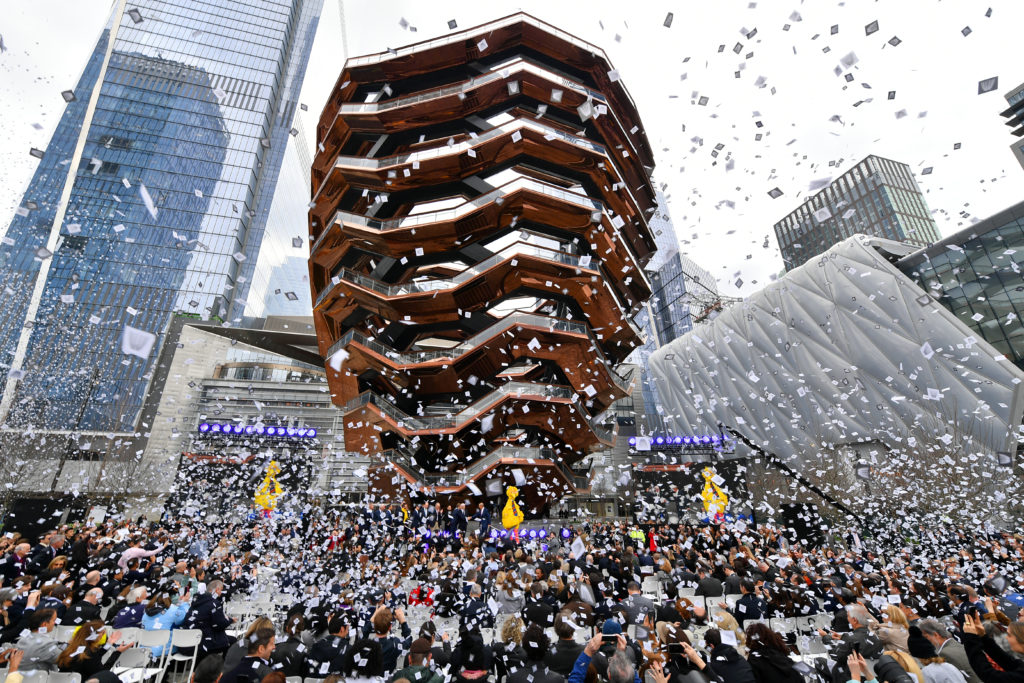 Hudson Yards Mega Project in NYC Officially Opens – Real ...